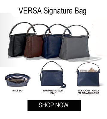 Shop the interchangeable VERSA Signature Handbag at MyStyleInASnap.com