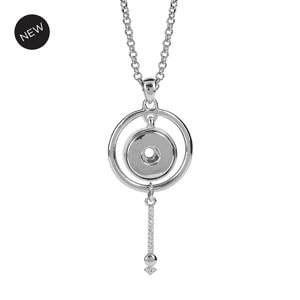 Silver Rhodium Starscape Necklace #S1660 at MyStyleInASnap.com