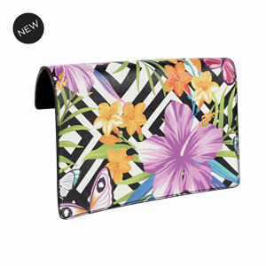 Tropical Punch Flap Accent Black/Multi Flap Accent for our Interchangeable Handbags. Create the handbag of your dreams. Shop MyStyleInASnap.com