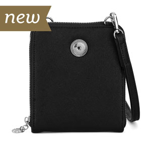 Magnolia and Vine Valerie Crossbody Black #S1473 available at MyStyleInASnap.com