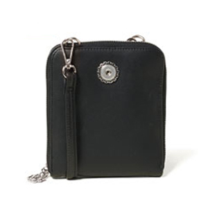 Magnolia and Vine Valerie Crossbody Black #S1008 available at MyStyleInASnap.com BUY 4 SNAPS, GET 1 FREE for 5 different looks for your handbag!