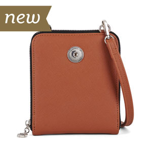 Magnolia and Vine Valerie Crossbody Cognac #S1474 available at MyStyleInASnap.com