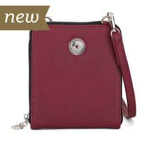 Magnolia and Vine Valerie Crossbody Plum #S1475 available at MyStyleInASnap.com