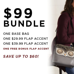 $99 Versa Bundle One Base Bag, One $29.99 Accent and One $39.99 Accent. Shop MyStyleInASnap.com