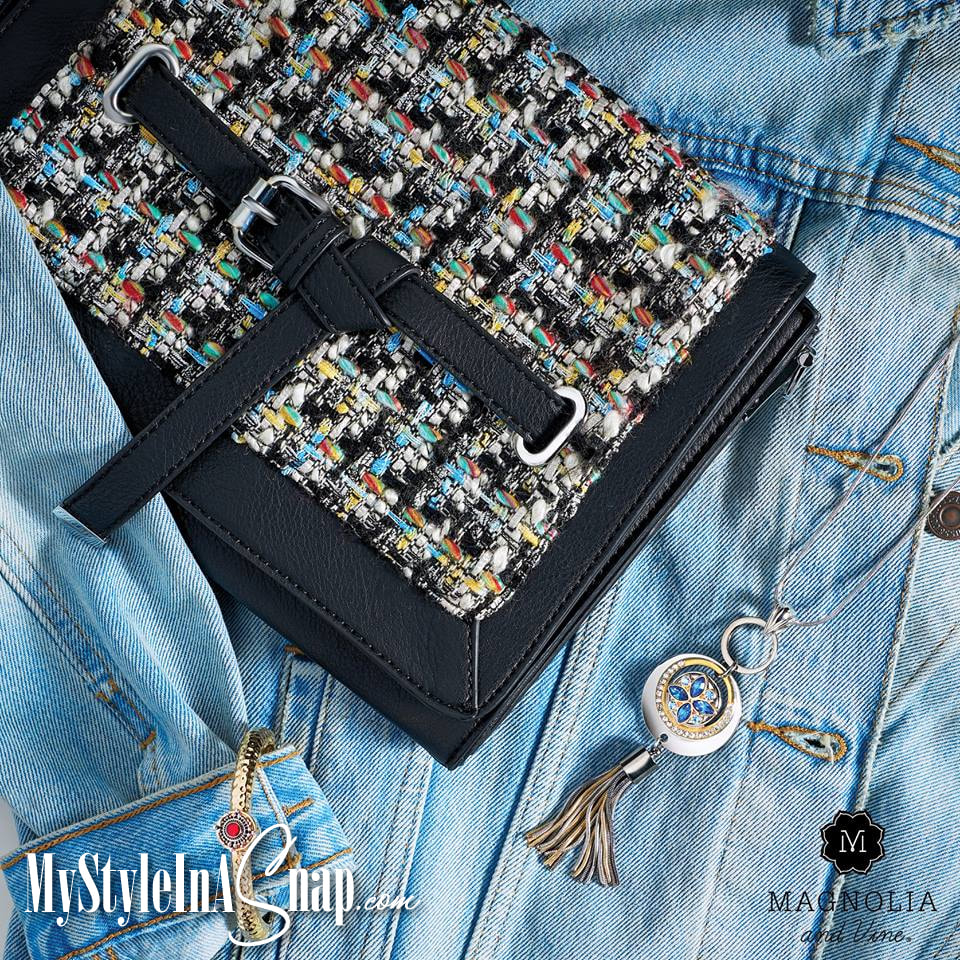Change it, swap it, wear it! You'll love our interchangeable Versa handbags, jewelry pieces, and stunning Snaps - change it all in a snap to match your outfit or your occasion. Shop at MyStyleInASnap.com LOVE IT? Join us and get it all at consultant prices.