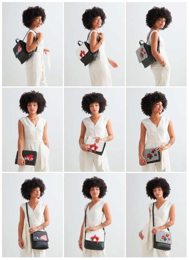 Interchangeable Versa Handbags - 6 sizes + 2 styles = a fabulous handbag! Shop MyStyleInASnap.com LOVE IT? Join us and get it all at consultant prices.