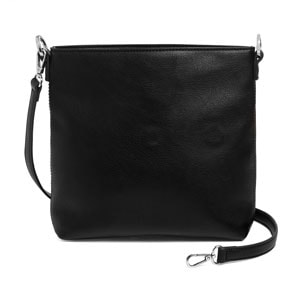 Black VERSA Journey Interchangeable Handbag Base Bag {ALSO available in Navy, Brown and Grey vegan leather} Add your choice of Flap Accents and change the look of your purse in seconds WITHOUT MOVING THE CONTENTS!  Carry crossbody or with the single short strap. Shop MyStyleInASnap to see ALL THE FLAP ACCENTS! Love it? Join us and get it all at consultant prices!