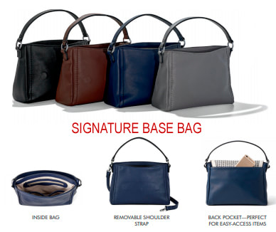 Shop the interchangeable VERSA Signature Handbag at MyStyleInASnap.com 6ac3e320f4681