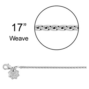 Magnolia and Vine Weave Chain - 17