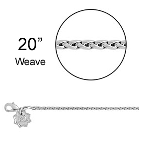 Magnolia and Vine Weave Chain - 20