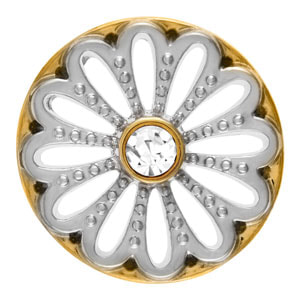 Wheel of Flora Two-Tone Snap #S0446