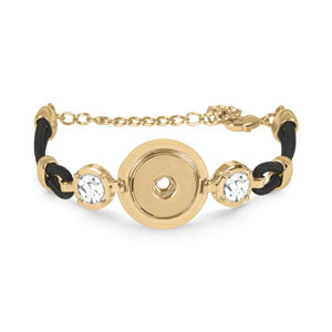 Yellow Gold Bright Lights Bracelet #S1860 at MyStyleInASnap.com