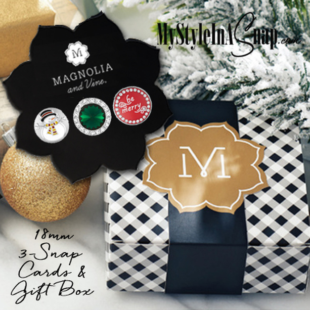 Magnolia and Vine 3-Snap Cards and Gift Boxes available at MyStyleInASnap.com