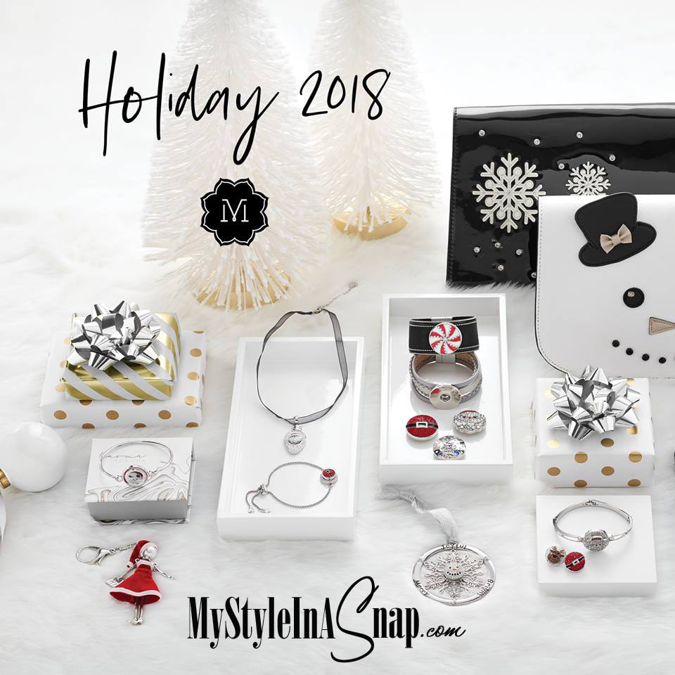 Fa la la la FABULOUS! Our festive Holiday Collection has launched! You will find something sparkly for everyone on your gift list, plus gorgeous jewelry and accessories for you. Shop now at MyStyleInASnap.com LOVE IT? Join us and get it all at consultant prices!