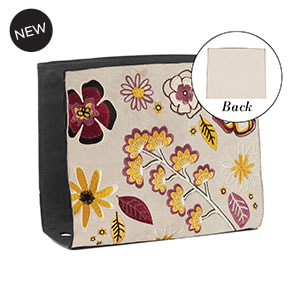 Bursting Blooms Wraparound Accent Fawn for Versa Handbags - MyStyleInASnap.com