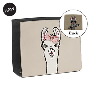 Drama Llama Wraparound Accent Oyster/Grey for Versa Handbags - MyStyleInASnap.com