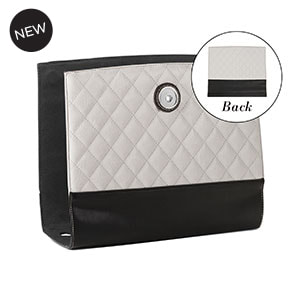 Grand Classic Quilt Wraparound Accent Cloud Grey for Versa Handbags - MyStyleInASnap.com