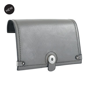 VERSA Grand Snap Flap Accent GREY for Versa interchangeable Handbag at MyStyleInASnap.com