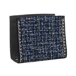 Linked In Wraparound Accent - Black/Royal for Versa Handbags - MyStyleInASnap.com