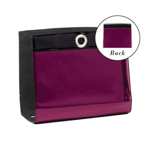 Madison Avenue Wraparound Accent - Berry/Black