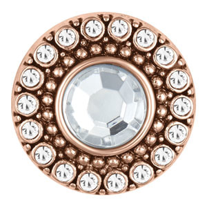 Rose Gold Heritage Clear Snap #S1192