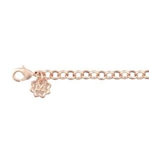Magnolia and Vine Rose Gold Variegated Chain - 30