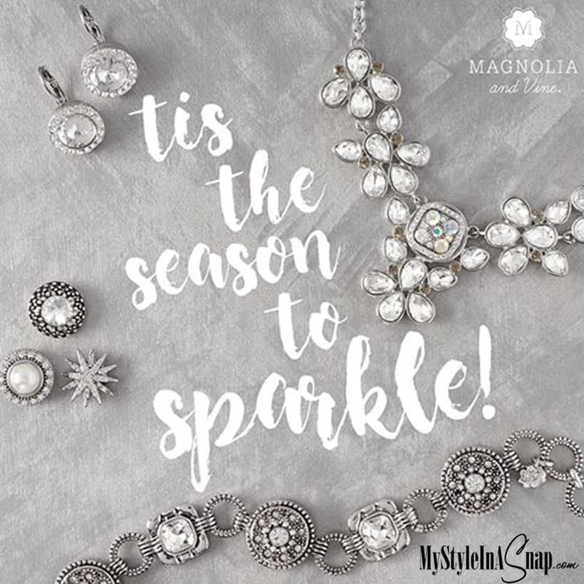 Sparkle and Shine with the interchangeable jewelry and accessories collection from Magnolia and Vine from MyStyleInASnap.com - BUY 4 SNAPS, GET 1 FREE!