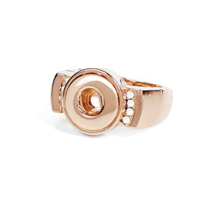 Mini Rose Gold Tempo Stretch Ring at MyStyleInASnap.com