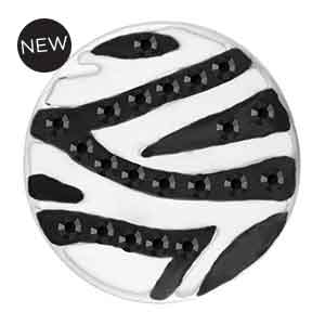 Mini Zebra Black/White Snap