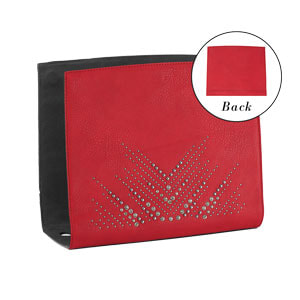 Scarlet Wraparound Accent Red - one of many accents that pair with the interchangeable Tote Bag - Shop MyStyleInASnap.com