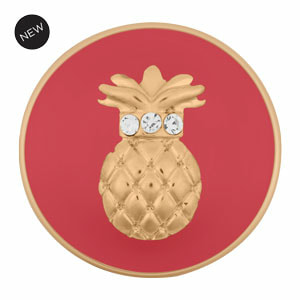 Pineapple Sweet to the Core Coral Original Snap Yellow Gold