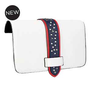Stars & Studs Flap Accent White/Multi