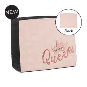 Style Queen Wraparound Accent Blush